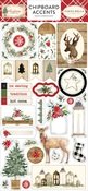 Christmas Chipboard Accents - Carta Bella