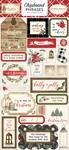 Christmas Chipboard Phrases - Carta Bella