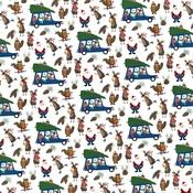 Tree Farm Paper - O Canada Christmas - Photoplay