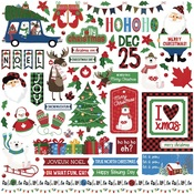 Element Stickers - O Canada Christmas - Photoplay