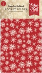 Christmas Travelers Notebook Pocket Folder Insert - Carta Bella