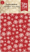 Christmas Travelers Notebook Pocket Folder Insert - Carta Bella - PRE ORDER