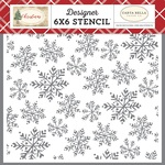 Blanket of Snow Stencil - Carta Bella