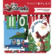 Ephemera Sheets - O Canada Christmas - Photoplay