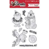 Polymer Stamps - O Canada Christmas - photoplay