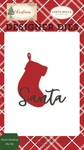Santa Stocking Die Set - Carta Bella