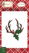 Antlers & Holly Die Set - Carta Bella