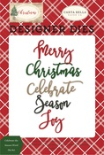 Celebrate The Season Word Die Set - Carta Bella