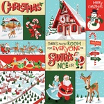 Multi Journaling Cards Paper - Santas Workshop - Carta Bella