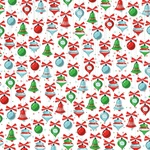 Christmas Trimmings Paper - Santas Workshop - Carta Bella