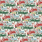 Seasons Greetings Paper - Santas Workshop - Carta Bella