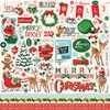 Santa's Workshop Sticker Sheet - Carta Bella