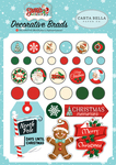 Santas Workshop Decorative Brads - Carta Bella