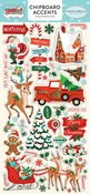 Santas Workshop Chipboard Accents - Carta Bella