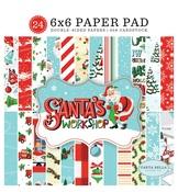 Santas Workshop 6x6 Paper Pad - Carta Bella