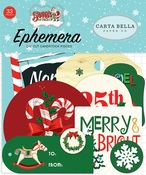 Santas Workshop Ephemera - Carta Bella - PRE ORDER