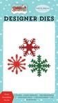 Santa Snowflakes Die Set - Carta Bella