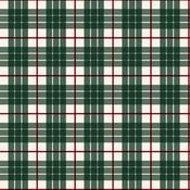 Green Glen Paper - Tartan No 2 - Carta Bella