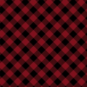 Red Buffalo Paper - Tartan No 2 - Carta Bella