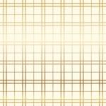 Gold Cream Holiday Plaid Foil Paper - Carta Bella