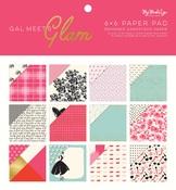 6x6 Paper Pad - Gal Meets Glam - My Mind's Eye
