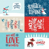 4x6 Journaling Cards Paper - Celebrate Winter - Echo Park