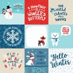 4x4 Journaling Cards Paper - Celebrate Winter - Echo Park