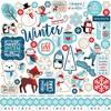 Celebrate Winter Element Sticker - Echo Park
