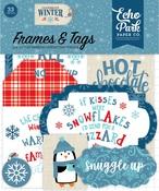 Celebrate Winter Frames & Tags - Echo Park