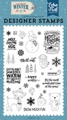 Happy Winter Stamp Set - Echo Park
