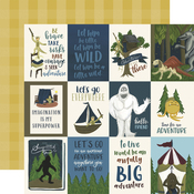 3X4 Journaling Cards Paper - Adventure Awaits - Echo Park