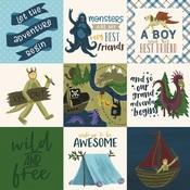 4X4 Journaling Cards Paper - Adventure Awaits - Echo Park