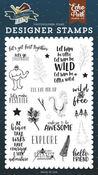 Get Lost Together Stamp Set - Echo Park