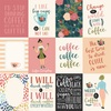 3X4 Journaling Cards Paper - Coffee - Echo Park