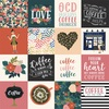 3X3 Journaling Cards Paper - Coffee - Echo Park