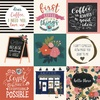 4X4 Journaling Cards Paper - Coffee - Echo Park