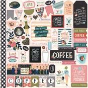 Coffee Element Sticker - Echo Park
