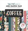 Coffee 6x6 Paper Pad - Echo Park