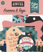 Coffee Frames & Tags - Echo Park