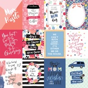 3X4 Journaling Cards Paper - I Am Mom - Echo Park