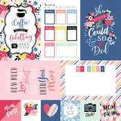 4X6 Journaling Cards Paper - I Am Mom - Echo Park