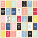 Inspirational Letterboards Paper - I Am Mom - Echo Park