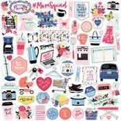 I Am Mom Element Sticker - Echo Park