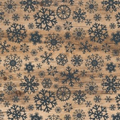 Swirling Snowflakes Paper - Let It Snow - Carta Bella