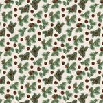 Pinecone Flurry Paper - Let It Snow - Carta Bella