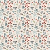 Whirling Snowflakes Paper - Let It Snow - Carta Bella