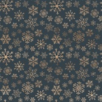 Icy Snowflakes Paper - Let It Snow - Carta Bella