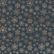 Icy Snowflakes Paper - Let It Snow - Carta Bella