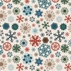 Glistening Snowflakes Paper - Let It Snow - Carta Bella