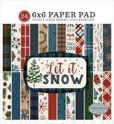 Let It Snow 6x6 Paper Pad - Carta Bella